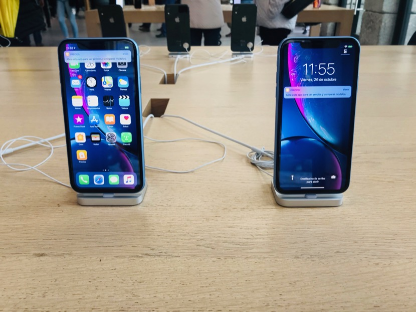 iPhone XR Apple Store