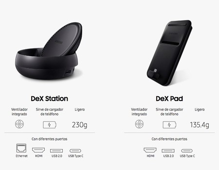 DeX Station vs. DeX Pad