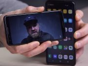 El reconocimiento facial Samsung Galaxy S10 salta a un video simple.