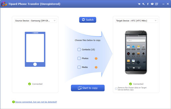 Conectar android