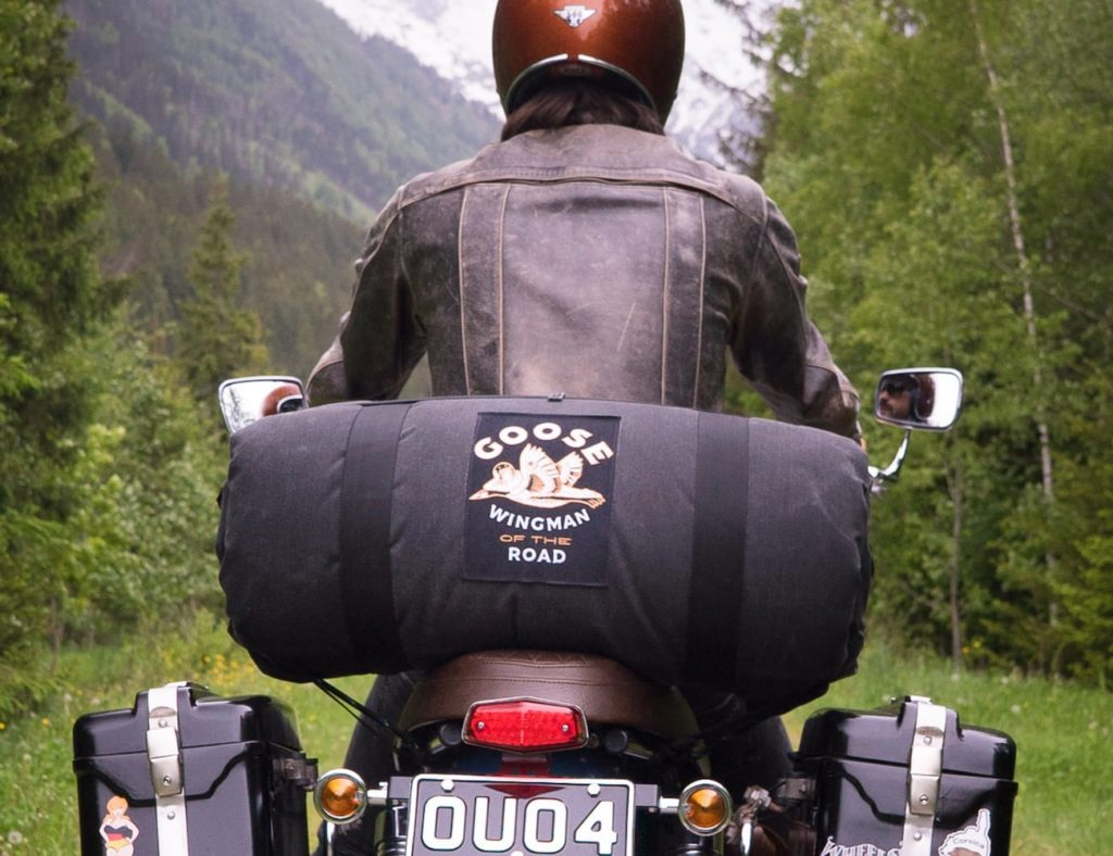 "Sistema de acampada de motos Goose Wingman Of The Road ""aria-describeby ="" gallery-16-340183"