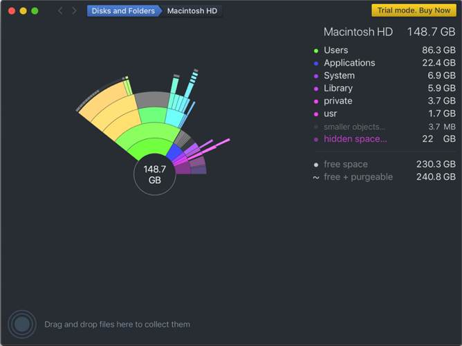 Analizar Disk Space Mac Daisydisk