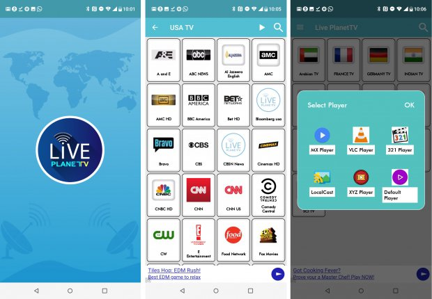 Live Planet TV es un Android /