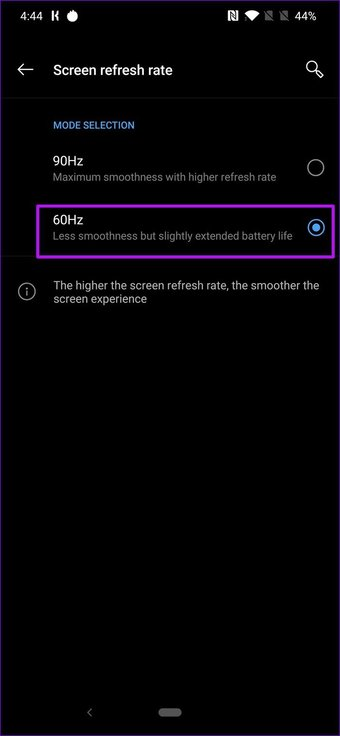 One Plus 7 Pro Refresh Rate 2