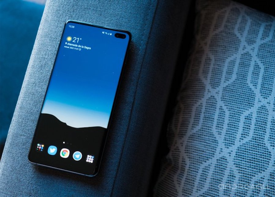 Galaxy S10 de 1TB Smartphone Self