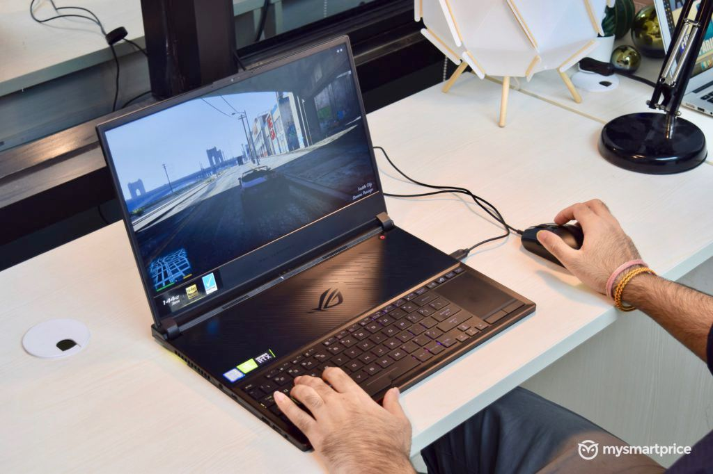 """ASUS Zephyrus S GX531GW Rendimiento en juegos """"width ="""" 696 """"height ="""" 464 """"srcset ="""" https://assets.mspimages.in/wp-content/uploads/2019/05/ASUS-Zephyrus-S-GX531GW-Gaming- Performance-1024x682.jpg 1024w, https://assets.mspimages.in/wp-content/uploads/2019/05/ASUS-Zephyrus-S-GX531GW-Gaming-Performance-300x200.jpg 300w, https: // activo. mspimages.in/wp-content/uploads/2019/05/ASUS-Zephyrus-S-GX531GW-Gaming-Performance-768x512.jpg 768w, https://assets.mspimages.in/wp-content/uploads/2019/05 /ASUS-Zephyrus-S-GX531GW-Gaming-Performance-696x464.jpg 696w, https://assets.mspimages.in/wp-content/uploads/2019/05/ASUS-Zephyrus-S-GX531GW-Gaming-Performance- 1068x712.jpg 1068w, https://assets.mspimages.in/wp-content/uploads/2019/05/ASUS-Zephyrus-S-GX531GW-Gaming-Performance-630x420.jpg 630w, https: //assets.mspimages. in / wp-content / uploads / 2019/05 / ASUS-Zephyrus-S-GX531GW-Gaming-Performance-50x33.jpg 50w """"tamaños ="""" (ancho máximo: 696px) 100vw, 696px"""