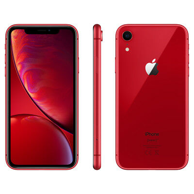 APPLE IPHONE XR 64GB ROSSO 6 .1 NUOVO RED GAR 24 MESI SMARTPHONE 64 GB X R