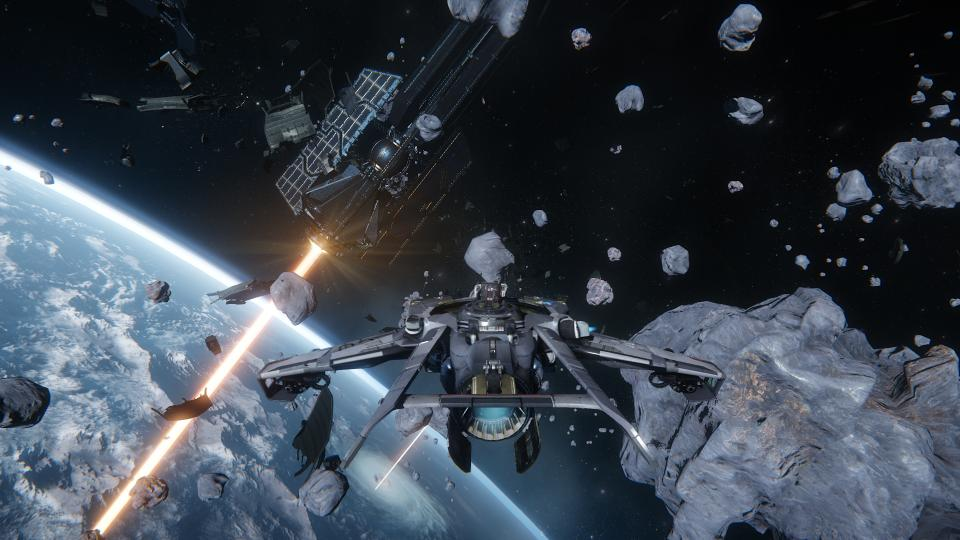 Star Citizen combate espacial