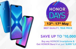 Honor View 20, Honor 8X, Honor 9N, Honor Watch Magic Discounted in Amazon Honor Days Sale