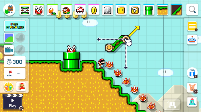 Mira el 'Super Mario Maker 2' de Nintendo Direct Here - Variety 1