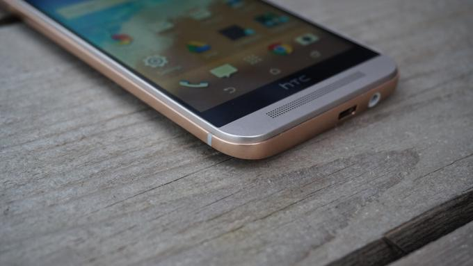 HTC One M9 borde de labios