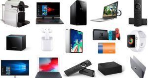 Dell Laptop, Dell Desktop, Apple Watch, Fire TV, Nespresso Inissia, y ...