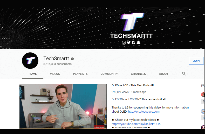 TechSmartt - YouTube Canal