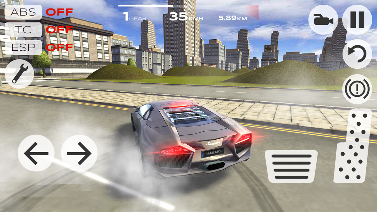 Extreme Car Driving Simulator 1