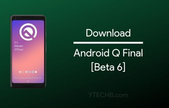 descargar android q beta 6