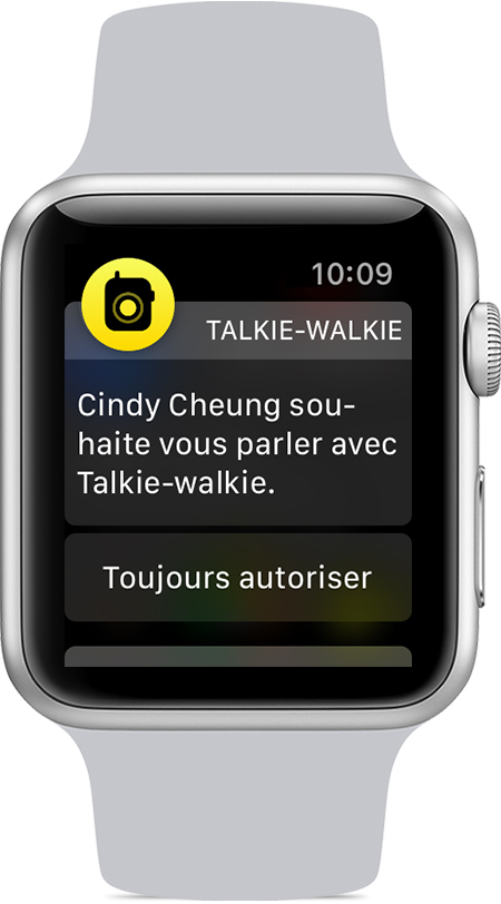 apple watch walkie talkie invitación amigo Cómo usar el walkie talkie en su Apple Watch