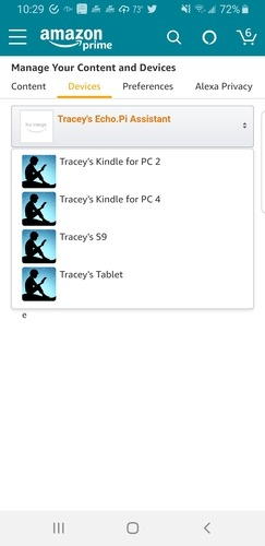 Android Web para Kindle Localizar Kindle