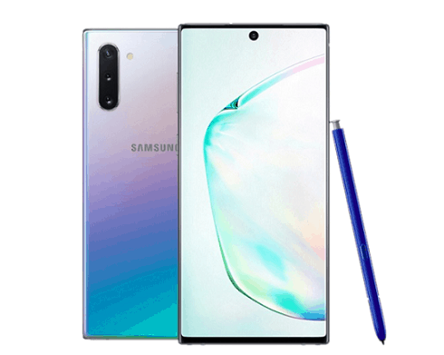 Samsung Galaxy Note  10 Captura de pantalla