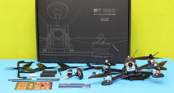 DTS GT200 drone review: veredicto